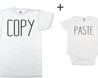 Copy Paste Dad Kid Couple Shirt Body -  kids,son,father,gift,birthday,father shirt,dad gift,happy das,baby,kids,daughter,wife,print,best dad