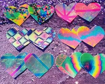 Love Heart Nipple Pasties