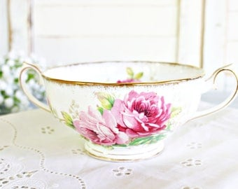 """Vintage Royal Albert """"American Beauty"""" Bouillon Cup ONLY 