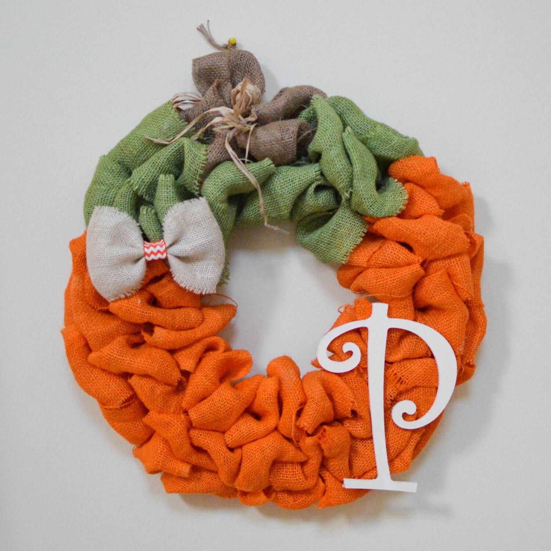 Wreath Burlap Wreath Halloween Burlap Burlap Pumpkin Wreath Halloween Burlap