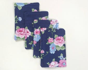 4pk wipes, flannel wipes, cloth wipes, baby wipes, family cloth, personal wipes, reusable, washable, zero waste, bundle, ready to ship