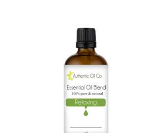 Relaxing Essential Oil Blend 100% Pure 10ml 50ml 100ml