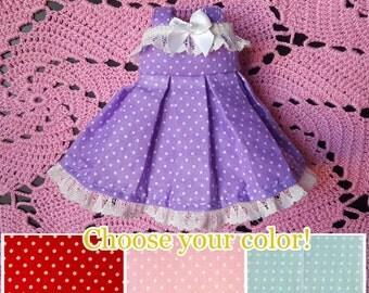 Polka Dot Dress for YOSD BJD