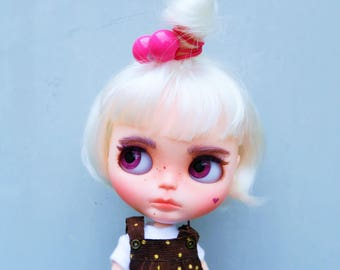 OOAK custom Blythe doll Melody unique doll by malinkaartz