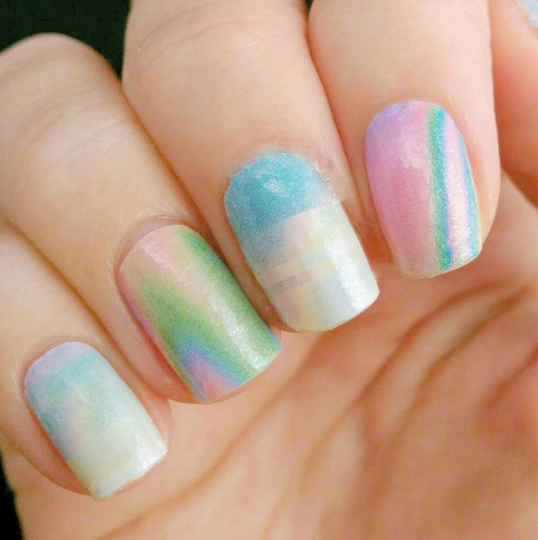 Diy Vinyl Nail Wraps.Opal Nail Polish Wraps Strips From ItsPersonail ...