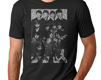 All Songs Beatles and Collage Beatles T-shirt