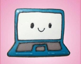 Pink Laptop Computer Cookie Cutter