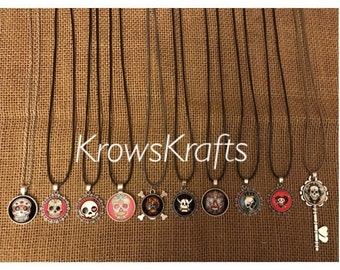Brand New Skull Necklaces
