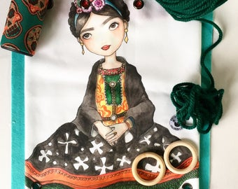 Frida Backpack Eco Canvas