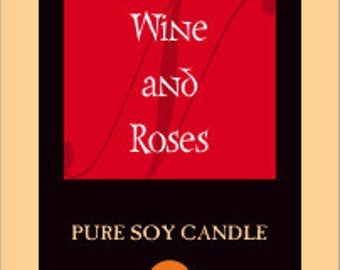 Wine Pure Soy Candles