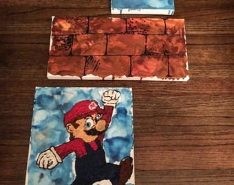 Melted Crayon Mario Brother