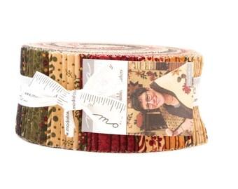 "Moda GOOSEBERRY LANE 40 2.5"" Quilt Fabric Strips 9540JR Jelly Roll"