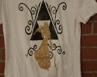 "LoZ ""Princess Zelda"" custom women's tee"