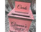Two-Tier Custom Card Box ...
