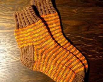 Handmade kids socks