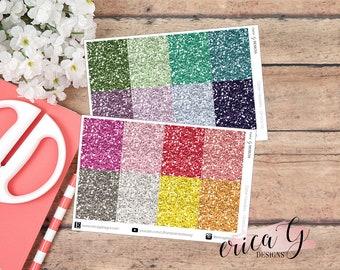 128 GLITTER Headers: Multicolor | Erin Condren Vertical