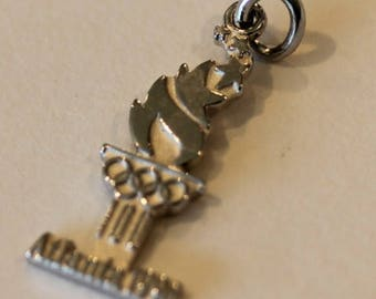 Vintage sterling silver Atlanta Balfour 1996 Olympic Torch charm
