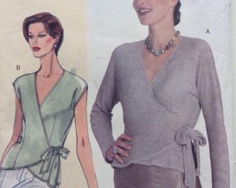 Wrap top sewing pattern