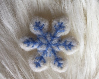 Mini Custom Felted Ornaments or Magnets