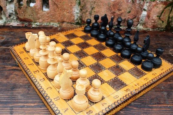 Juego de ajedrez vintage mephisto munchen