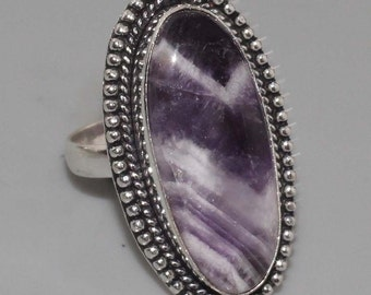 CLEARANCE *Lace Amethyst Ring Size 7