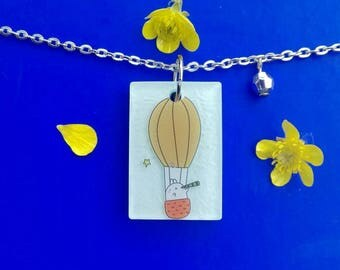 Balloon Molang pendant necklace