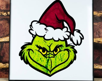 The Grinch Art Print