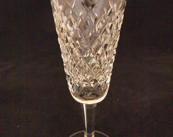 Waterford Crystal Alana Pattern - Fluted Champagne Glasses
