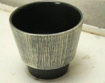 west german pottery planter by U keramik