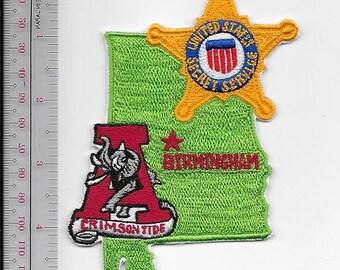 US Secret Service USSS Alabama Birmingham Field Office Crimson Tide Agent Service Patch