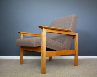 SOLD: Guy Rogers Kyoto Mid Century Teak Chair Retro Vintage 50s 60s 70s