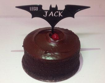 Customized Batman Cake Topper