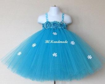 Elsa tutu dress, baby frozen tutu dress, first birthday tutu dress, frozen elsa tutu dress, frozen elsa tutu, frozen elsa costume, frozen