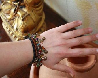 Charm bracelet Indian bracelet