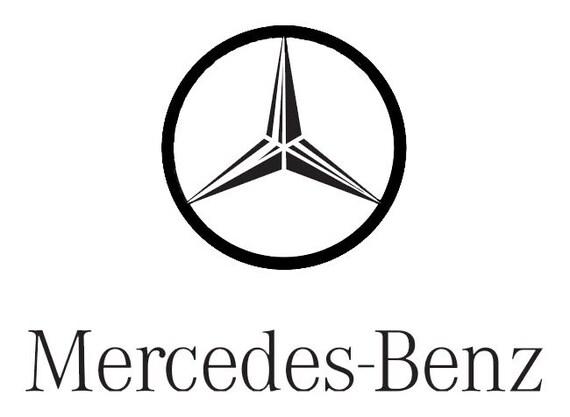 Mercedes Benz Logo Car Garage Dealership Art Sticker By