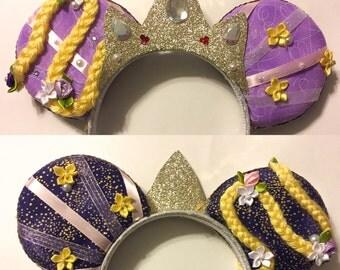 Rapunzel Minnie Ears