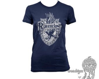 Ravencl Crest #2 One Color on Navy, White, Black and sport grey Women tee