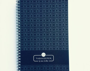 The Task Keeper Side Bound Notepad - Navy
