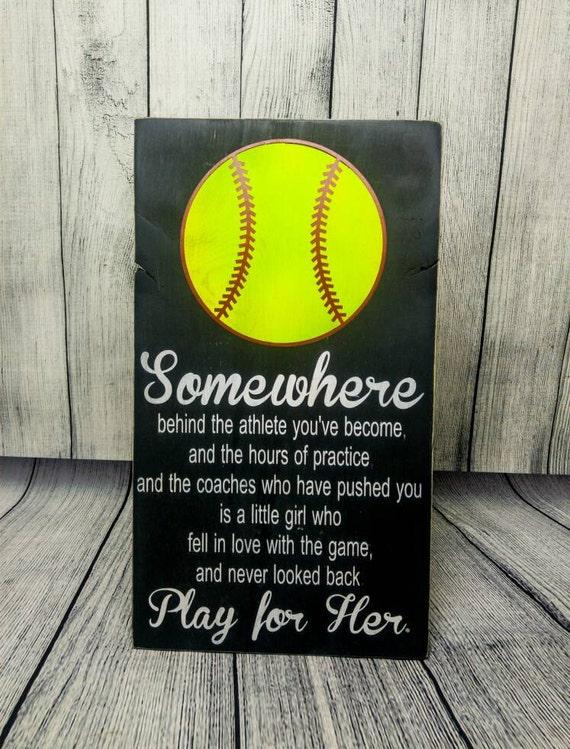 softball bedroom decor softball sign softball mom softball
