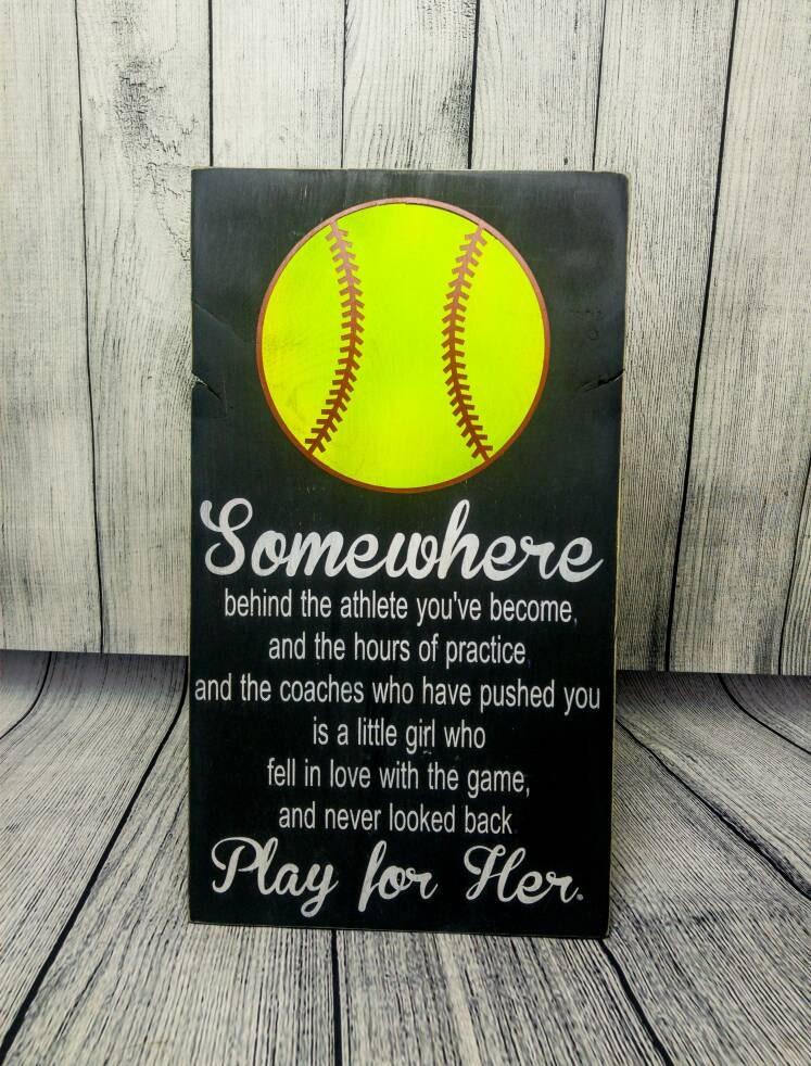 softball bedroom decor softball sign softball mom