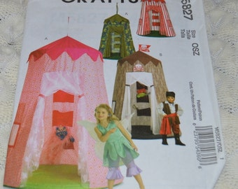 McCall's Crafts Pattern Uncut M5827 Play Canopy