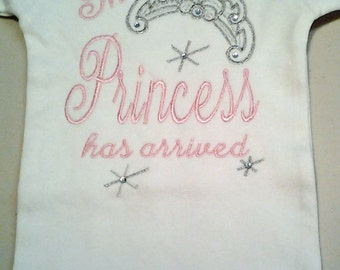 The Princess has Arrived Onesie