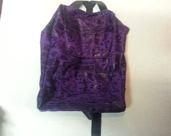 Purple Go Bag