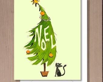 Noel Holiday Card