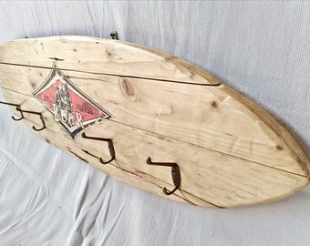 Surf CLOTHES BEAR wooden boards