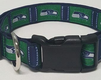 dog collar, seattle seahawks, seattle seahawks dog collar, nfl dog collar, seahawks dog collar, seahawks collar, nfl, nfl collar