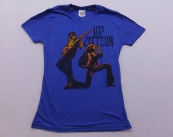 Womens Led Zeppelin US Tours 1977 Concert T-shirt XS