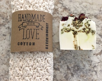 Rose soap , Wild Irish rose organic Shea butter soap is one of the most versatile natural beauty products for every day use.