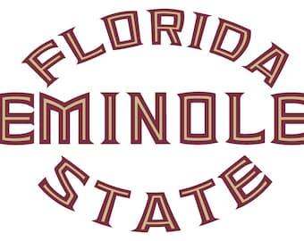 Florida State Seminoles SVG - Digital Download