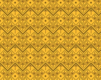 True Colors by Anna Maria Horner for FreeSpirit / Going Up in Citron / 1 yard